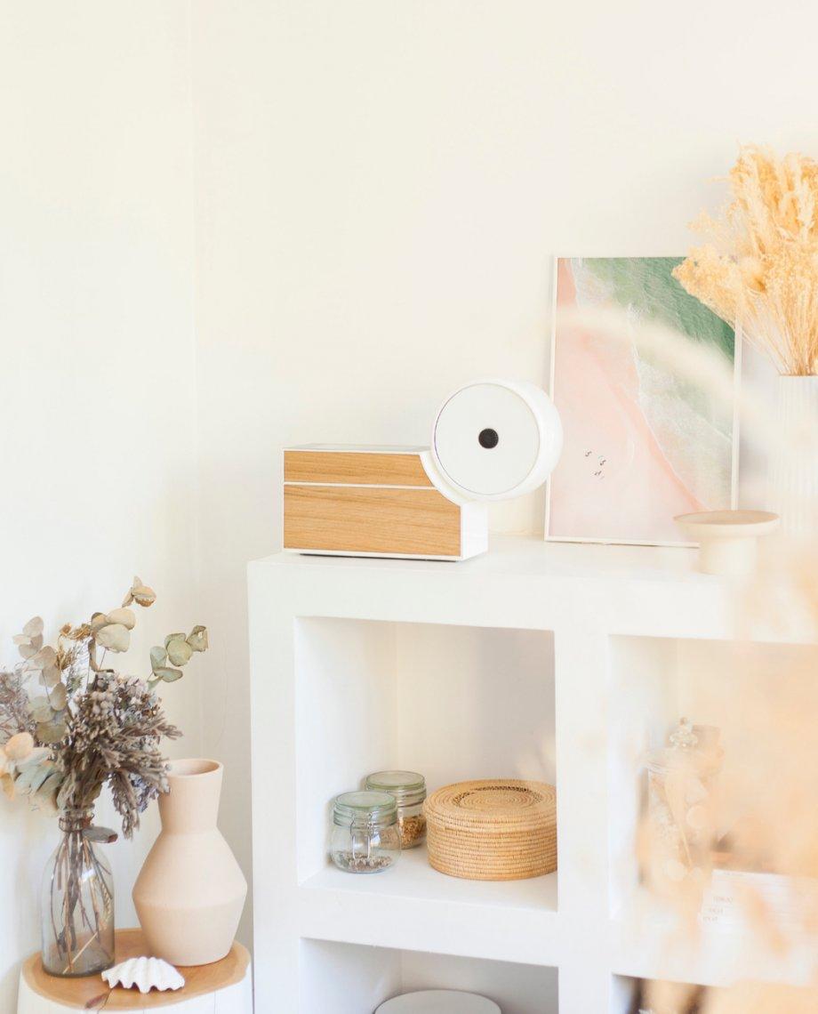 Compoz Compositeur Blanc bois naturel chene