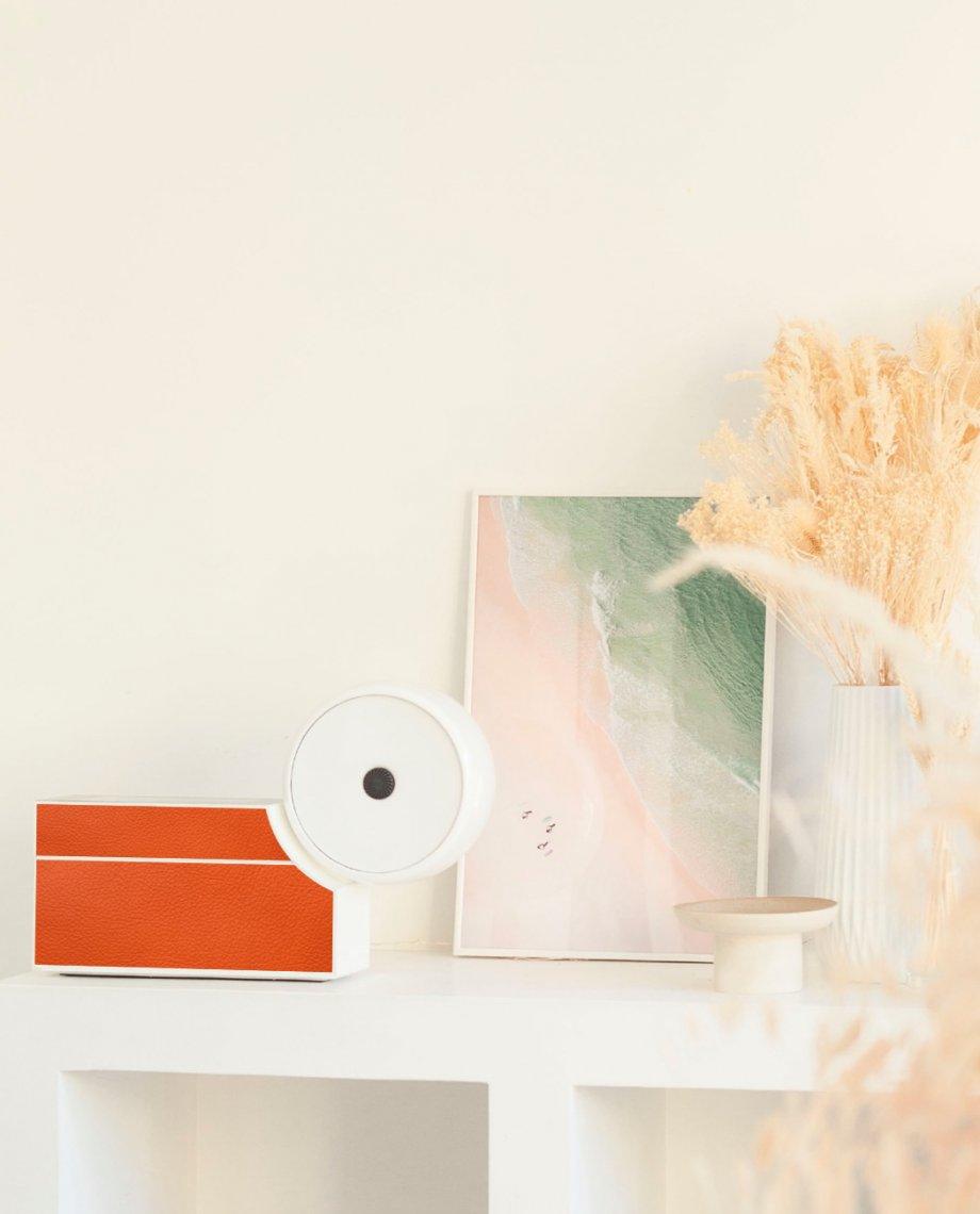Compoz Parfum Compositeur cuir orange gros plan nature design décoration