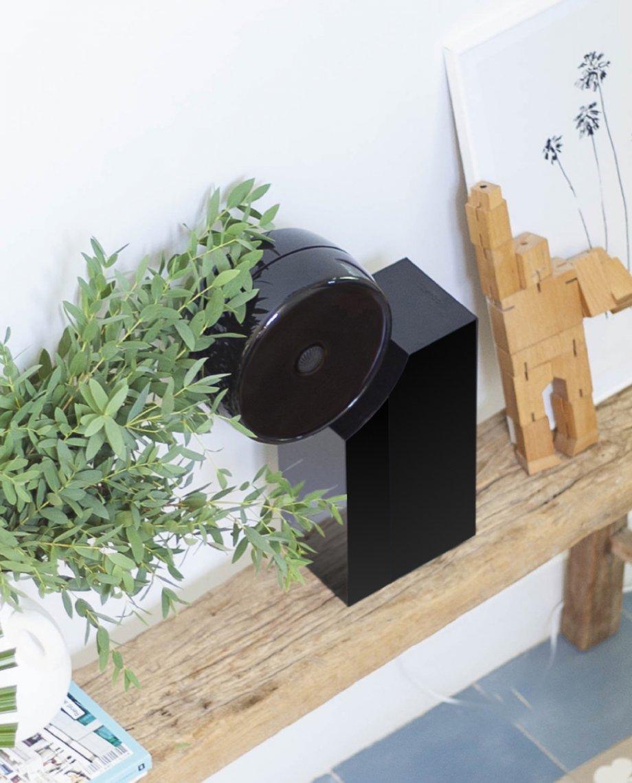 Compoz Compositeur noir laque décoration intérieure lifestyle