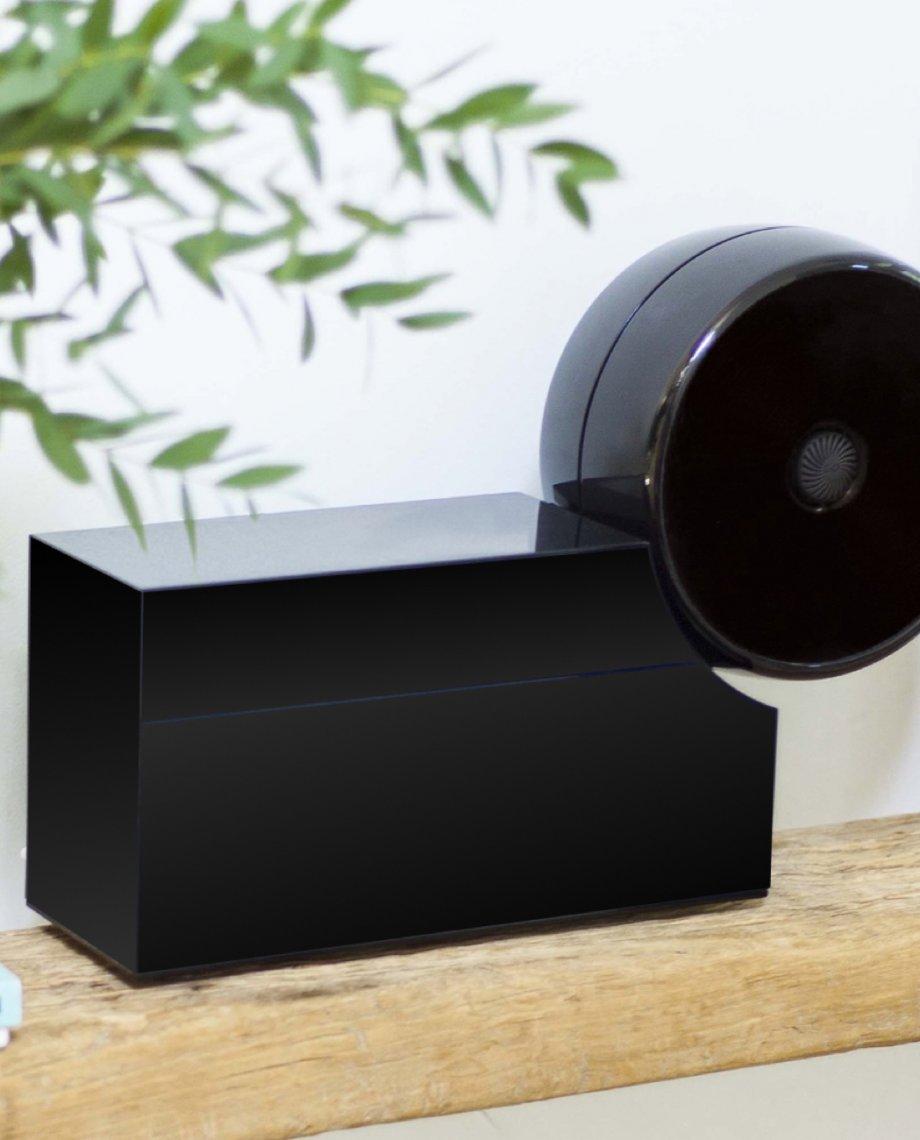 Compoz Compositeur noir laque parfum intérieur sur-mesure diffusion saine respect qualité air interieur