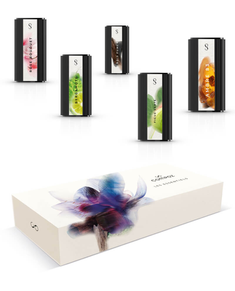 Discovery kit the essentials five pods to diffuse with Le Compositeur