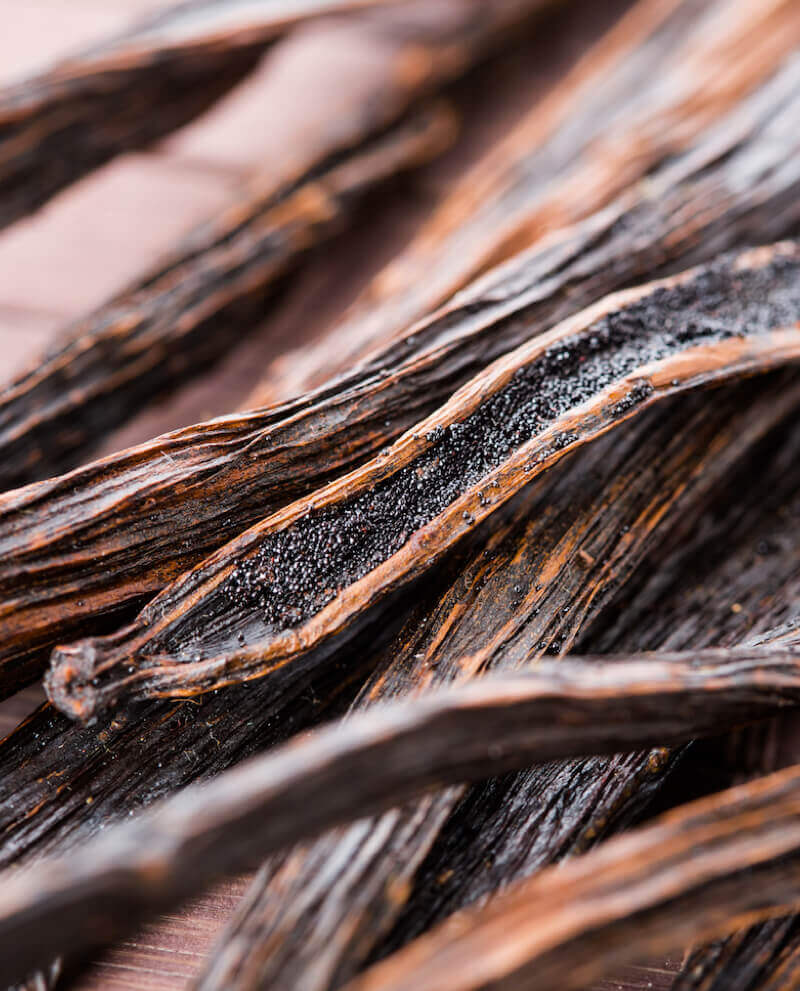 vanilla cloves used to produce natural essential oil vanilla perfume compoz collection