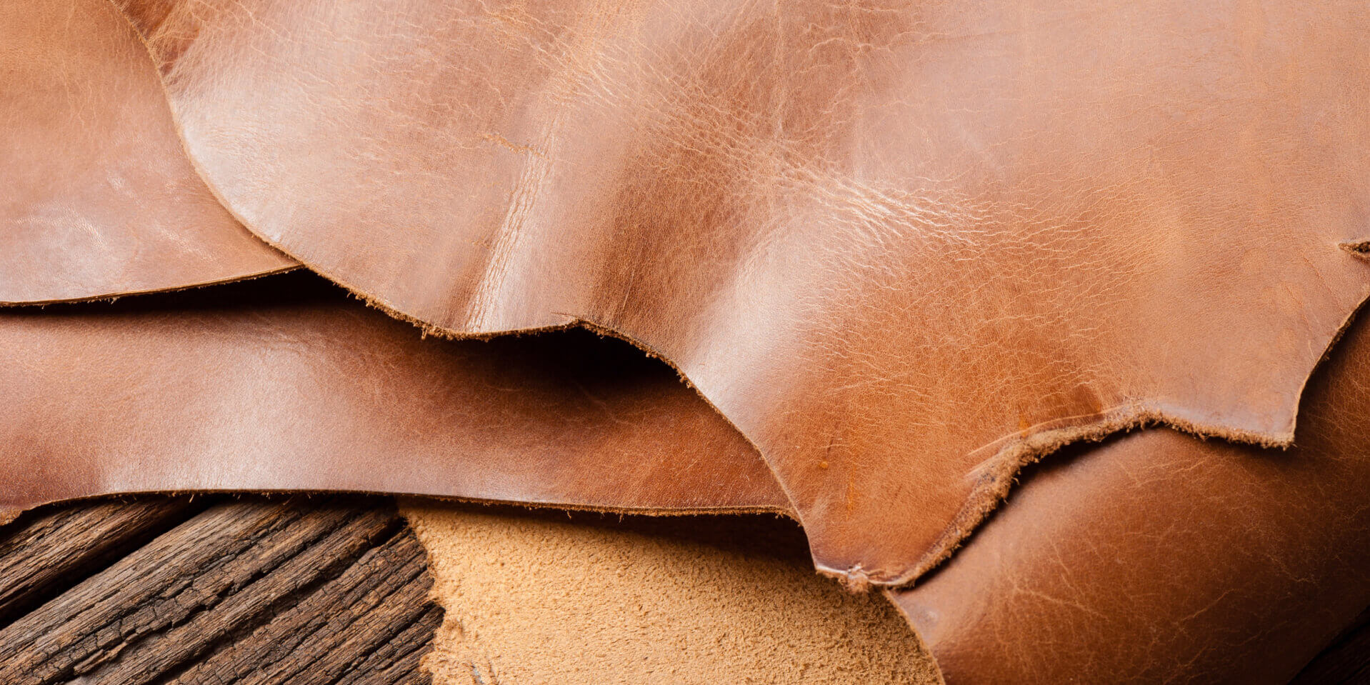 brown leather representing the smell of absolute leather essential oil