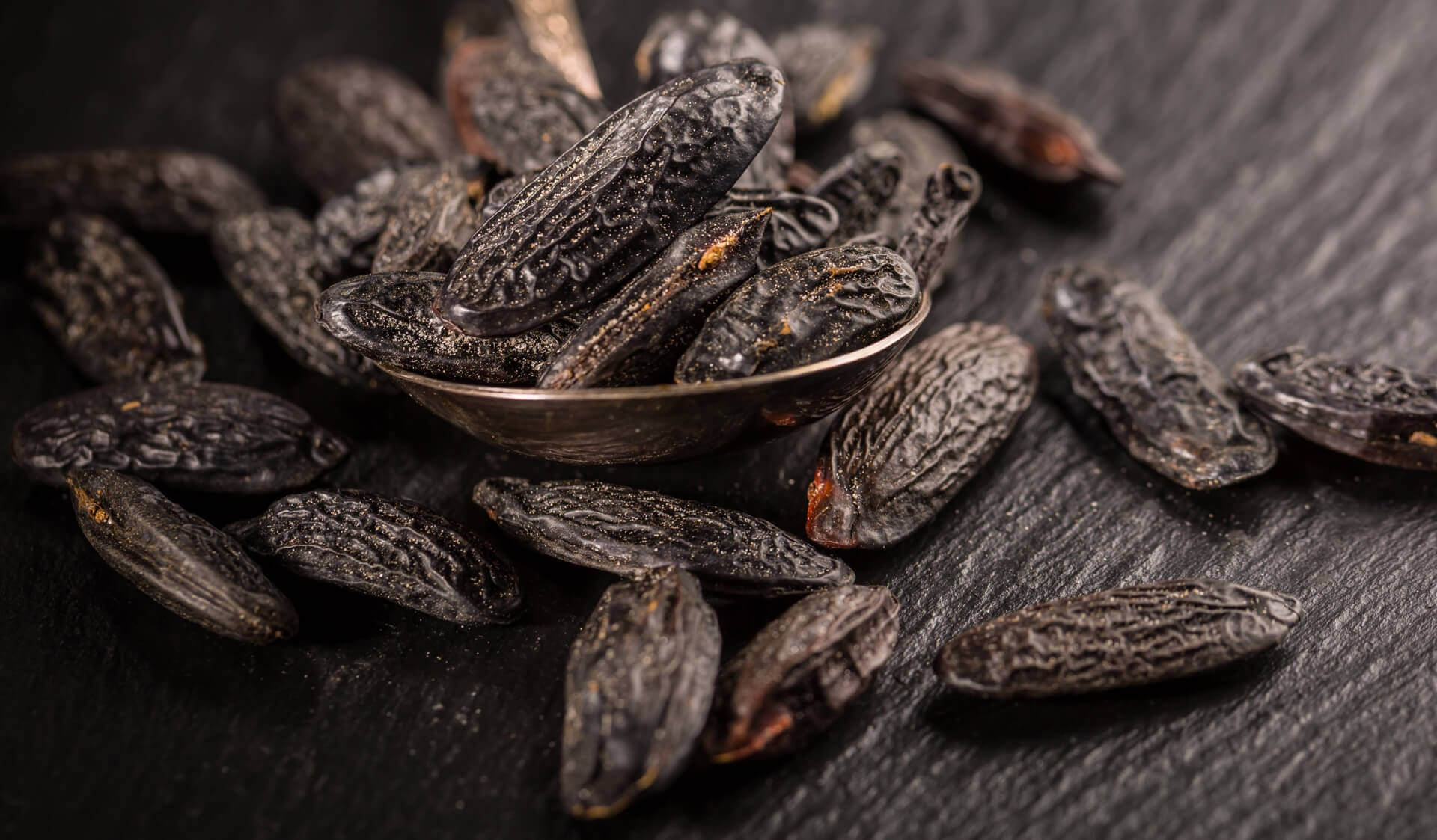 tonka beans used to produce natural essential oil